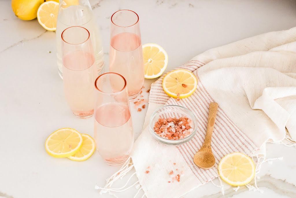 low sodium diet drink lemon water