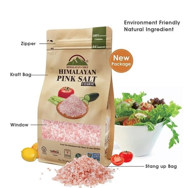 Chef Pure Himalayan Pink Salt