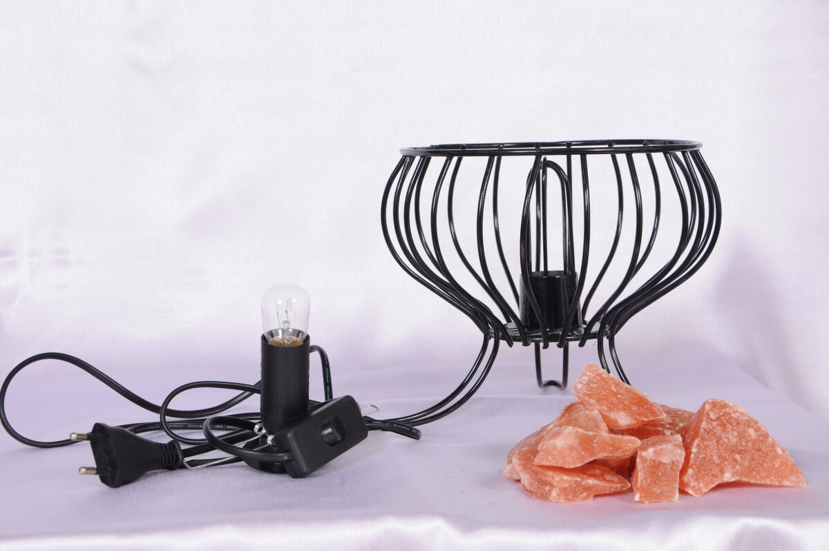 DIY salt lamp