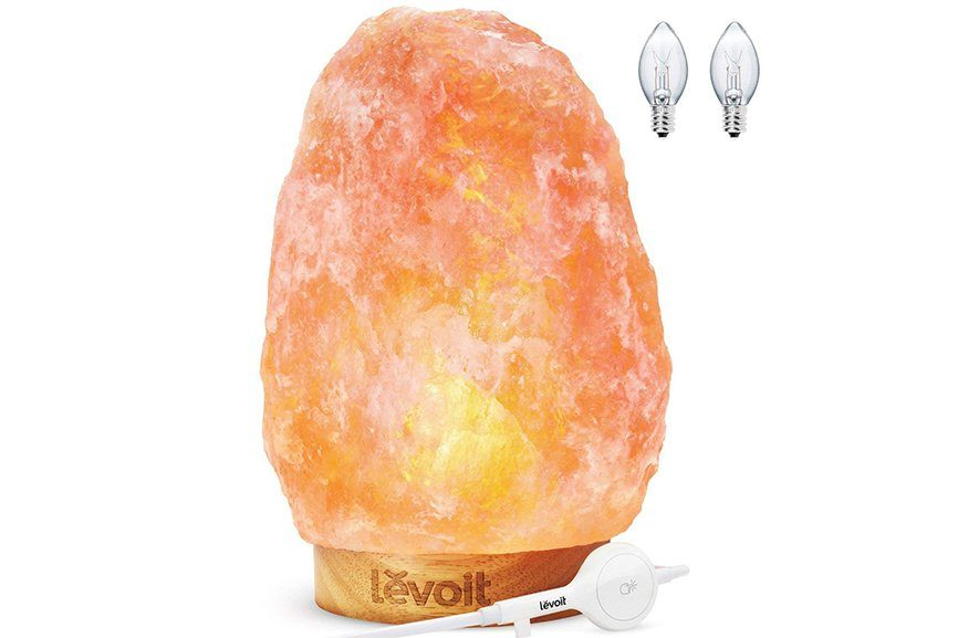 Levoit Kana Himalayan Pink Crystal Salt Lamp